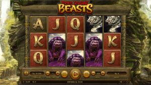 With a small jackpot of just 500 coins, you know that the Four Divine Beasts slot would need to be exceptional to achieve such a high mark and that is indeed what it is. This mid-to-high volatility game offers 243-ways to win across five reels and a massive bet range. There are a huge four different Free Spins bonuses, plus four other bonus features, which give the slot great depth and offer a fantastic range of wins. They are also easy to trigger which makes playing the game truly enjoyable.