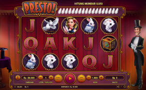 A 243-ways to win slot based on magicians, Presto! Is one of the most popular Habanero slots played every month and it is easy to see why. With a massive bet range available and a fantastic range of bonus features, which you can play through to trial out and see which one is best for you, together with slick presentation, it is easy to see why this is always one of the favorites for fans of Habanero gaming.